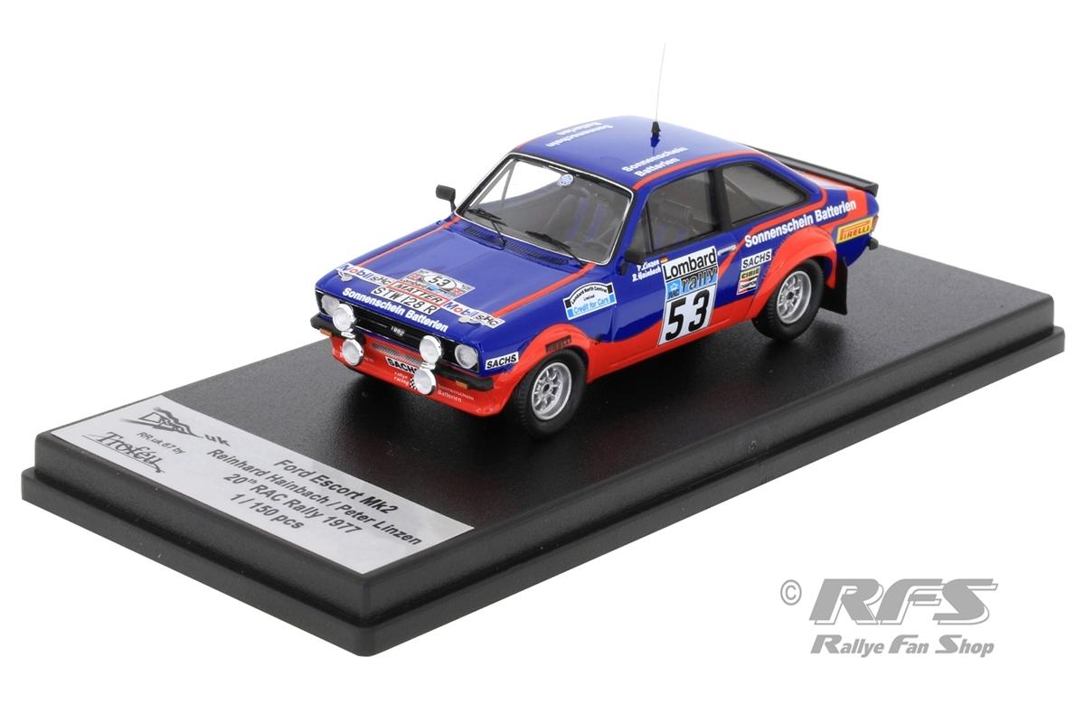 Ford Escort RS 1800 Mk II - RAC Rallye 1977 Reinhard Hainbach / Peter Linzen  -  # 53 1:43 - Trofeu RRuk67