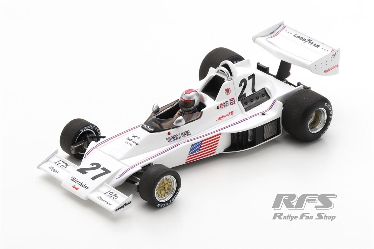 Parnelli Ford VP J4B - Mario Andretti Formel 1 GP Südafrika 1976  -  # 27 1:43 - Spark 1893