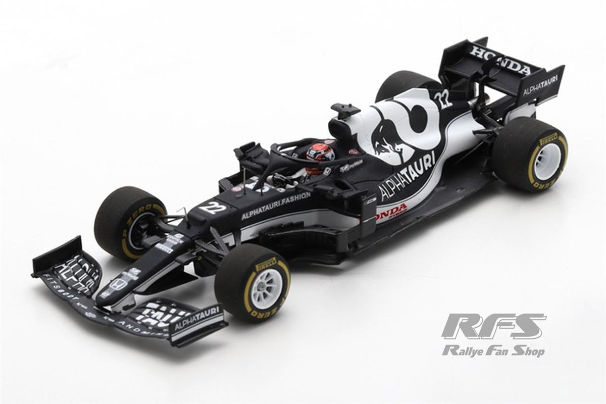 AlphaTauri Honda AT02 - Yuki Tsunoda Formel 1 GP Bahrain 2021  -  # 22 1:43 - Spark 7669