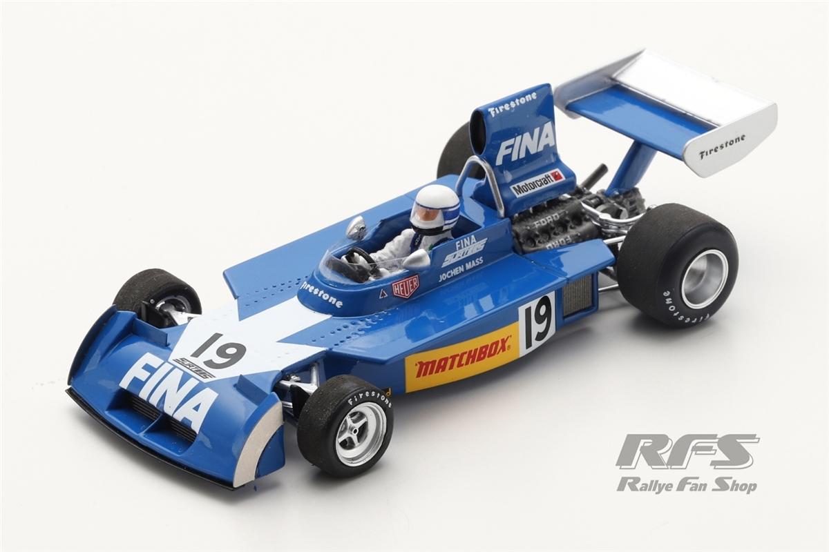 Surtees TS16 Ford - Jochen Mass Formel 1 GP Brasilien 1974  -  # 19 1:43 - Spark 9651