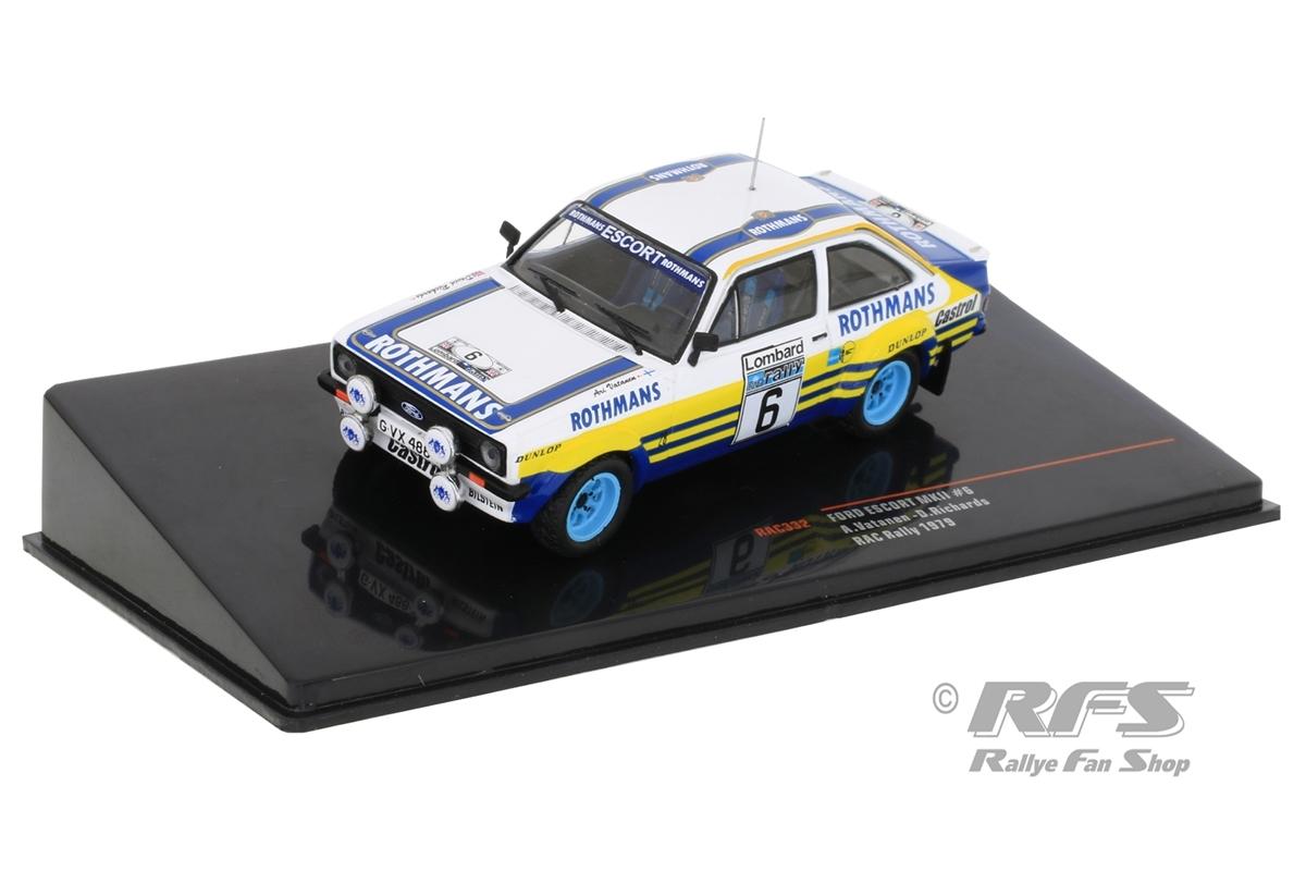 Ford Escort RS 1800 MK II - RAC Rallye 1979 Ari Vatanen / David Richards  -  # 6 1:43 - IXO RAC 332