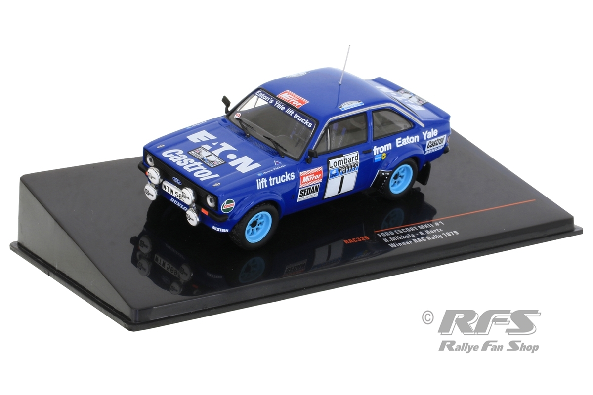 Ford Escort RS 1800 MK II - RAC Rallye 1979 Hannu Mikkola / Arne Hertz  -  # 1 1:43 - IXO RAC 329