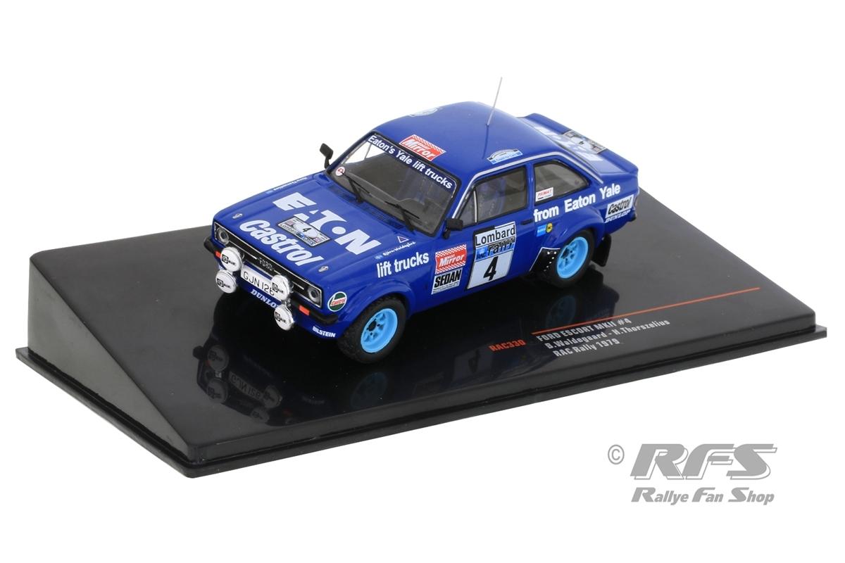 Ford Escort RS 1800 MK II - RAC Rallye 1979 Björn Waldegard / Hans Thorszelius  -  # 4 1:43 - IXO RAC 330