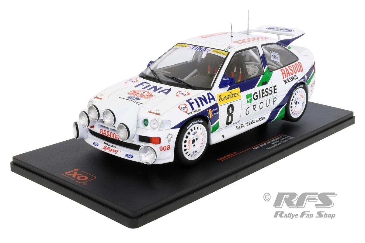 Ford Escort RS Cosworth - Rallye Monte Carlo 1995 Bruno Thiry / Stephane Prevot  -  # 8 1:18 - IXO 18RMC056B