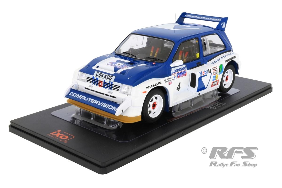 MG Metro 6R4 - Lombard RAC Rallye 1986 Tony Pond / Rob Arthur  -  # 4 1:18 - IXO 18RMC068B