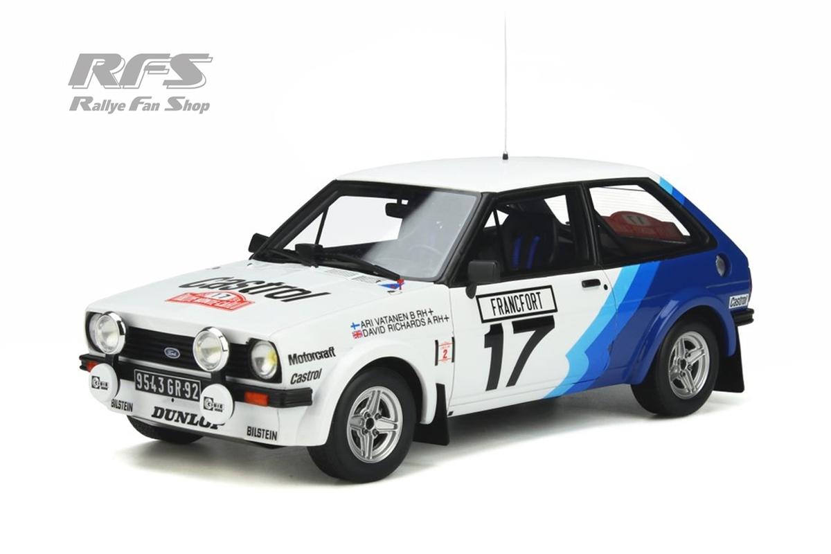 Ford Fiesta MK I 1600 RS - Rallye Monte Carlo 1979 Ari Vatanen / David Richards  -  # 17 1:18 - OttOmobile - OT 894