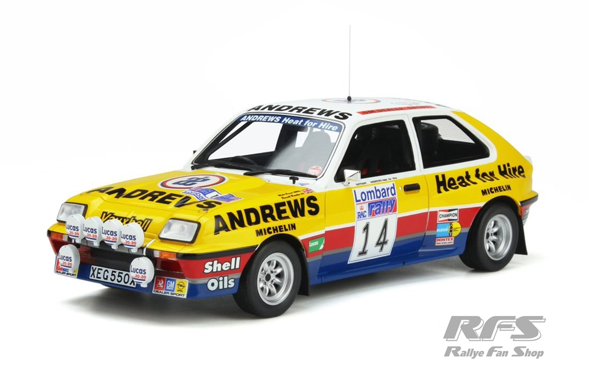 Vauxhall Chevette 2300 HSR - RAC Rallye 1983 Russel Brookes / Mike Broad  -  # 14 1:18 - OttOmobile - OT 370