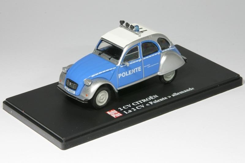 """1:43-2 CV Citroen """"POLENTE"""" AL 1994-PO-01 Baujahr 1994 Polizei Kiel"""