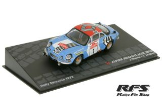 Renault Alpine A110 1800<br/>Therier / Jaubert<br/>Rally San Remo 1973 - 1:43