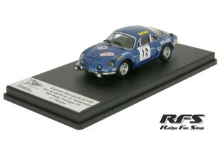 Renault Alpine A110<br/>Andersson / Andersson<br/>Rally Portugal 1970 - 1:43