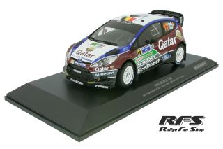 Ford Fiesta RS WRC<br/>Neuville / Gilsoul<br/>Rally Mexico 2013 - 1:18