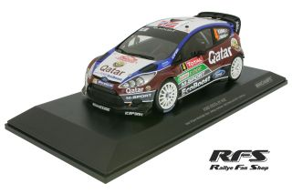 Ford Fiesta RS WRC<br/>Ostberg / Andersson<br/>Rally Monte Carlo 2013 - 1:18