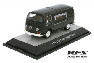VW T2a Transporter<br/>Funeral Car - 1:43