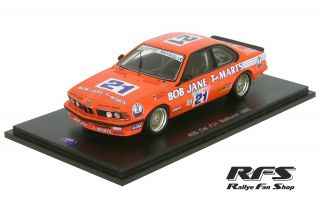 BMW 635 CSi<br/>Cecotto / Ravaglia<br/>Bathurst 1985 - 1:43