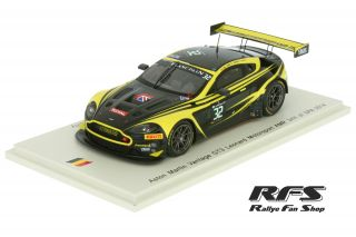 Aston Martin Vantage GT3<br/>Leonard/Wilson/Meadows/Lamy<br/>24 Hours of Spa 2014 - 1:43