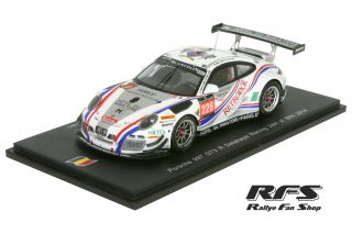 Porsche 997 GT3 R<br/>Bordet/Viron/Lemeret/Al Azhari<br/>24 Hours of Spa 2014 - 1:43