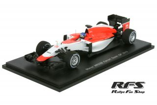 Manor Marussia MR03B Ferrari<br/>Will Stevens<br/>F1 Spain GP 2015 - 1:43