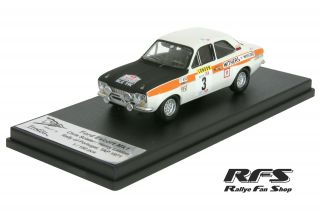 Ford Escort RS 1600 MK I<br/>Sclater / Liddon<br/>Rally Portugal 1971 - 1:43