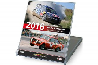 Desktop Rally Calendar 2016<br/>History meets the Present