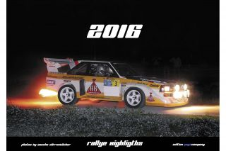 Quattro Calendar 2016<br/>Rallye Highlights