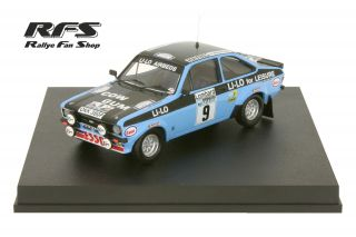 Ford Escort RS 1800 MK II<br/>Clark / Wilson<br/>RAC Rally 1978 - 1:43