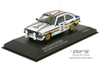 Ford Escort Mk II RS 1800<br />Vatanen / Richards<br />Rallye Akropolis 1980 - 1:43