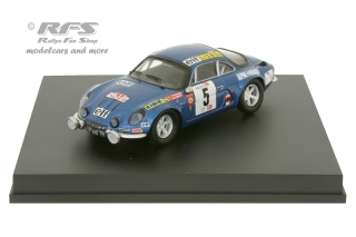 Alpine Renault A110 1800 - Rallye Portugal 1973<br />Jean-Luc Therier / Jacques Jaubert  -  # 5<br />1:43 - Trofeu 0811