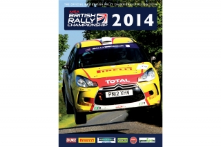 British Rally Championship 2014<br />DVD<br />British Rally Championship 2014