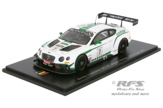 Bentley Continental GT3<br />Kane / Meyrick / Smith<br />24 Hours of Spa 2015 - 1:43