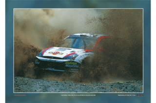 Ford Focus RS WRC - Rallye Akropolis 2002<br />Colin McRae / Nicky Grist<br />Poster  -  70 x 50 cm