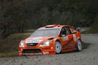 Ford Focus RS WRC - Henning Solberg<br />Rallye Monte Carlo 2007<br />Poster  -  75 x 50 cm