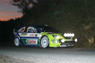 Ford Focus RS WRC - Markus Grönholm<br />Rallye Monte Carlo 2007<br />Poster  -  75 x 50 cm