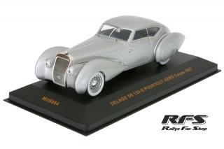 Delage D8 120-S Coupe<br />silber<br />1937 - 1:43