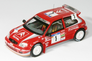 Citroen Saxo Kit-Car S1600<br />Araujo / Ramalho<br />Rallye Portugal 2004 - 1:43