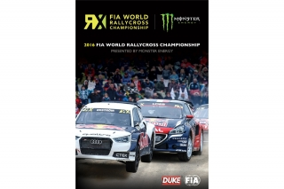 World RallyCross RX Championship<br />Review 2016<br />DVD - Duke 4429