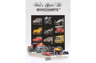 Minichamps - Edition 1<br />Jahreskatalog 2017<br />Katalog - Catalogue