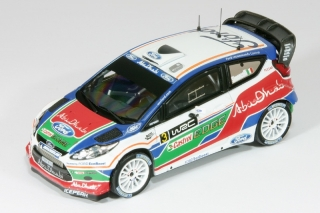 Ford Fiesta WRC<br /># 3 Simoncelli<br />Kirkbride Airfield 2011 - 1:43