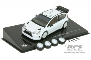 Citroen C4 WRC - 2008<br />Rally - Plain Body Version<br />1:43 - IXO MDC S11