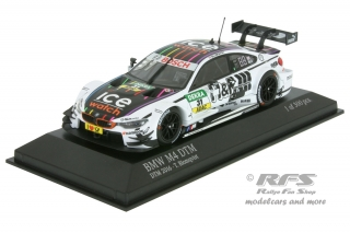 BMW M4 F82 DTM 2016 - Tom Blomqvist<br />DTM Season 2016  -  # 31<br />1:43 - Minichamps 410162431