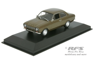Ford Escort Mk I - LHD<br />1968 - brown metallic<br />1:43 - Minichamps 940081000