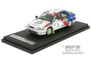 Mitsubishi Galant VR-4 - Rallye Bandama 1992<br />Kenjiro Shinozuka / John Meadows  -  # 1<br />1:43 - Ignition Model - IG 211
