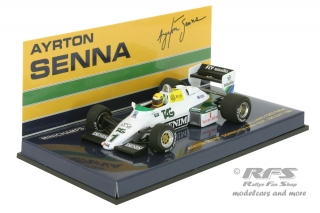 Williams Ford FW08C - Ayrton Senna<br />Formel 1 Test Donington Park 1983  -  # 1<br />1:43 - Minichamps 540834301