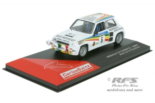 Renault 5 Turbo 2 - Rally de la Vendimia 1983<br />Carlos Sainz / Jose Lacalle  -  # 6<br />1:43 - Altaya IXO - AL 1983-dlV-06cs