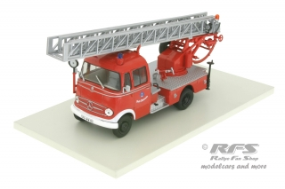 Mercedes LP 319 - DL 18 Metz Fire Brigade<br />wagon with rotating ladder - Fire Brigade Town Walsrode<br />1:43 - Altaya IXO - AL FW-081b