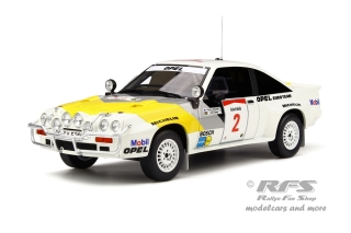 Opel Manta 400 Gr.B - Safari Rallye 1985<br />Rauno Aaltonen / Lofty Drews  -  # 2<br />1:18 - OttOmobile OT 245