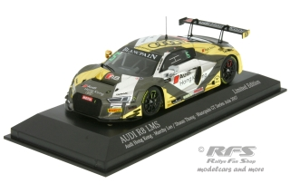 Audi R8 LMS - Blancpain GT Series Asia 2017<br />Marchy Lee / Shaun Thong  -  # 5<br />1:43 - Minichamps 437171105