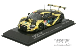 Audi R8 LMS - Melvin Moh / Eric Lo<br />China GT Championship 2017  -  # 16<br />1:43 - Minichamps 437171116