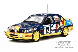 Ford Sierra RS Cosworth 4x4 - Rallye Monte Carlo 1991<br />Francois Delecour / Anne-Chantal Pauwels  -  # 12<br />1:18 - OttOmobile OT 732
