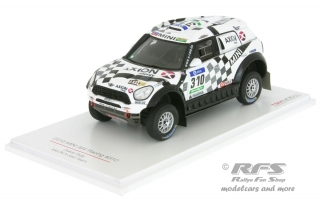 Mini All4 Racing - Rallye Dakar 2016<br />Orlando Terranova / Bernardo Graue  -  # 310<br />1:43 - TSM Model 430235