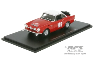Sunbeam Tiger - Rallye Monte Carlo 1965<br />Andrew Cowan / Robin Turvey  -  # 103<br />1:43 - Spark 4060